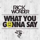 What You Gonna Say/Rick Wonder