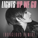 Up We Go (Borgeous Remix)/Lights