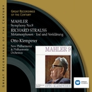 Mahler: Symphony No.9 & Richard Strauss: Metamorphosen -Tod und Verklärung/Otto Klemperer