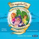 Die magischen Vier retten die Welt mit Muskelkraft, etwas Klebeband und einem Schlückchen Pfefferminztee/Rüdiger Bertram