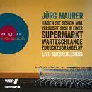 Haben Sie schon mal versucht, sich in einer Supermarktwarteschlange zurückzudrängeln?/Jörg Maurer