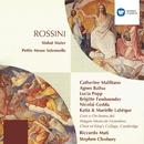 Rossini: Stabat Mater - Petite Messe Solennelle/Catherine Malfitano/Agnes Baltsa/Lucia Popp/Brigitte Fassbaender/Nicolai Gedda/Katia Labèque/Marielle Labèque/Riccardo Muti/Stephen Cleobury
