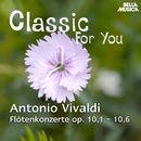 Classic for You: Vivaldi - Flötenkonzerte Op. 10, No. 1-6/Orchestra Filarmonica Italiana