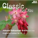 Classic for You: Bach - Englische Suiten No. 4-6/Christiane Jaccottet