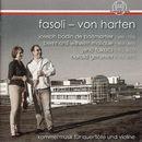 Kammermusik für Querflöte und Violine/Katharina Fasoli-von Harten / Valerio Fasoli