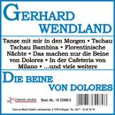 Die Beine von Dolores/Gerhard Wendland