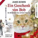 Ein Geschenk von Bob - Ein Wintermärchen mit dem Streuner (Ungekürzt)/James Bowen