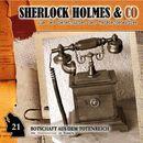 Folge 21: Botschaft aus dem Totenreich/Sherlock Holmes & Co