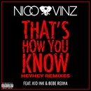 That's How You Know (feat. Kid Ink & Bebe Rexha) [HEYHEY Remixes]/Nico & Vinz