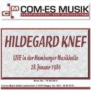 Live in der Hamburger Musikhalle, 28. Januar 1986/Hildegard Knef