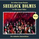 Die neuen Fälle, Fall 25: Die siebzehn Salutschüsse/Sherlock Holmes