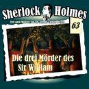 Die Originale, Fall 63: Die drei Mörder des Sir William/Sherlock Holmes