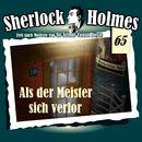 Die Originale, Fall 65: Als der Meister sich verlor/Sherlock Holmes