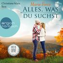Alles, was du suchst - Lost in Love - Die Green-Mountain-Serie, Band 1 (Ungekürzte Lesung)/Marie Force