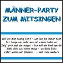 Männer-Party zum Mitsingen/Männer-Party zum Mitsingen