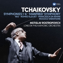 Tchaikovsky: Symphonies  Nos 1-6, Manfred Symphony, Overtures & Rococo Variations/Mstislav Rostropovich