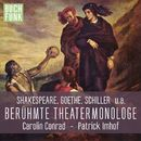 Berühmte Theater-Monologe/Diverse Autoren