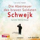Die Abenteuer des braven Soldaten Schwejk (Gekürzte Lesung)/Jaroslav Hasek
