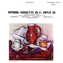 Spohr: Nonet in F Major, Op. 31 (Remastered from the Original Concert-Disc Master Tapes)/Members of the Fine Arts Quartet & New York Woodwind Quintet & Harold Siegel