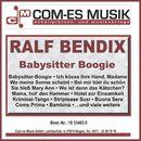 Babysitter Boogie/Ralf Bendix