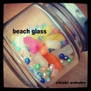 beach glass/大窪千秋