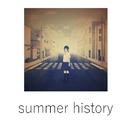 summer history/歩く人