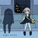 night (t)rain/歩く人