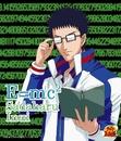 E=mc2(アニメ「テニスの王子様」)/乾 貞治