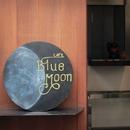 """cafe """" Blue moon """"/Four o'clocks"""