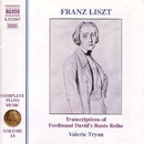リスト: ピアノ曲全集 第14集 ダーヴィットによる「ブンテ・ライエ」の編曲