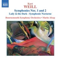 ワイル: 交響曲第1番, 第2番/シンフォニック・ノクターン「闇の女」