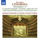 チマローザ: 序曲集 第3集/シンフォニア・フィンランディア・ユバスキュラ/パトリック・ガロワ(指揮)