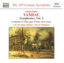 ヴァンハル: 交響曲選集 第2集