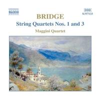 ブリッジ: 弦楽四重奏曲第1番/第3番