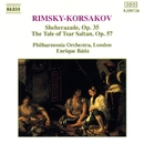 リムスキー=コルサコフ: 交響組曲「シェヘラザード」/組曲「サルタン皇帝の物語」/フィルハーモニア管弦楽団/フィルデイヴィッド・ノーラン(ヴァイオリン)/エンリケ・バティス(指揮)