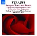 R. シュトラウス: 愛と死の歌曲集/ヒルコ・ドゥムノ(ピアノ)/ヘドウィグ・ファスベンダー(メゾ・ソプラノ)