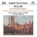 エルガー: 合唱曲集/クリストファー・ロビンソン(指揮)/ジョナサン・ヴォーン(オルガン)/ケンブリッジ・セント・ジョンズカレッジ聖歌隊