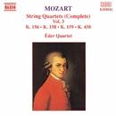 モーツァルト: 弦楽四重奏曲集 第3集 - 第3番/第5番/第6番/第17番「狩り」/エデル四重奏団