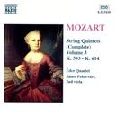 モーツァルト: 弦楽五重奏曲全集 第3集 - 第5番/第6番/ヤーノシュ・フェヘールヴァーリ(ヴィオラ)/エデル四重奏団