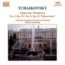 チャイコフスキー: 管弦楽組曲第3番ト長調Op.55/第4番ト長調Op.61「モーツァルティアーナ」/オードレイ・パーク(ヴァイオリン)/シュテファン・ザンデルリンク(指揮)/アイルランド国立交響楽団