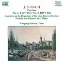 J.S. バッハ: パルティータ第1番/第2番/ヴォルフガンク・リュプザム(ピアノ)