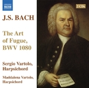 J.S. バッハ: フーガの技法 BWV 1080/マッダレーナ・ヴァルトーロ(チェンバロ)/セルジオ・ヴァルトロ(チェンバロ)