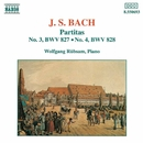 J.S. バッハ: パルティータ第3番/第4番/ヴォルフガンク・リュプザム(ピアノ)