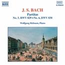 J.S. バッハ: パルティータ第5番/第6番/ヴォルフガンク・リュプザム(ピアノ)