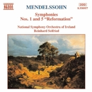 メンデルスゾーン: 交響曲第1番/第5番「宗教改革」/ラインハルト・ザイフリート(指揮)/アイルランド国立交響楽団