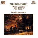 メンデルスゾーン: ピアノ四重奏曲第2番/第3番/バルトルディ・ピアノ四重奏団