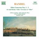ヘンデル: オーボエ協奏曲 第1番 - 第3番/組曲ト短調/アントニー・カムデン(オーボエ)/ジュリア・ガードウッド(オーボエ)/ニコラス・ウォード(指揮)/シティ・オブ・ロンドン・シンフォニア