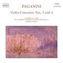 パガニーニ: ヴァイオリン協奏曲第3番/第4番/エルネ・ロージャ(ヴァイオリン)/ミハエル・ディトリッヒ(指揮)/スロヴァキア放送交響楽団
