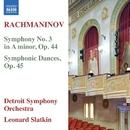 ラフマニノフ: 交響曲第3番/他/レナード・スラットキン(指揮)/デトロイト交響楽団