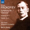 プロコフィエフ: 交響曲第1番「古典交響曲」/第2番/交響的絵画「夢」/マリン・オールソップ(指揮)/サンパウロ交響楽団